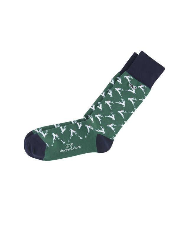 Rudolph Icon Socks