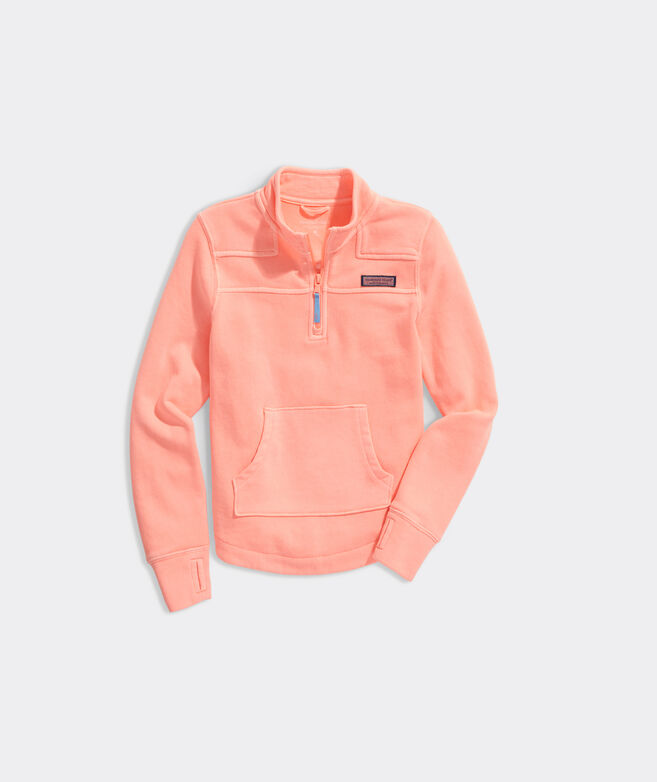 Girls' Garment-Dyed Relaxed Shep Shirt