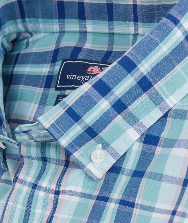 Classic Gibbs Hill Plaid Tucker Shirt