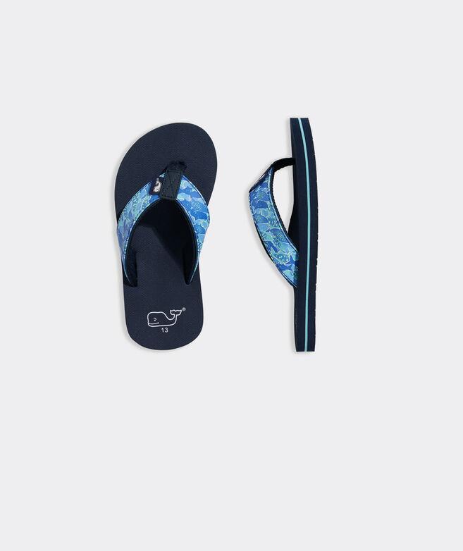 Boys' Tarpon Palms Classic Flip Flops