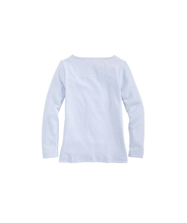 Girls Tri-Blend Fleece Sweatshirt Tunic with Pocket