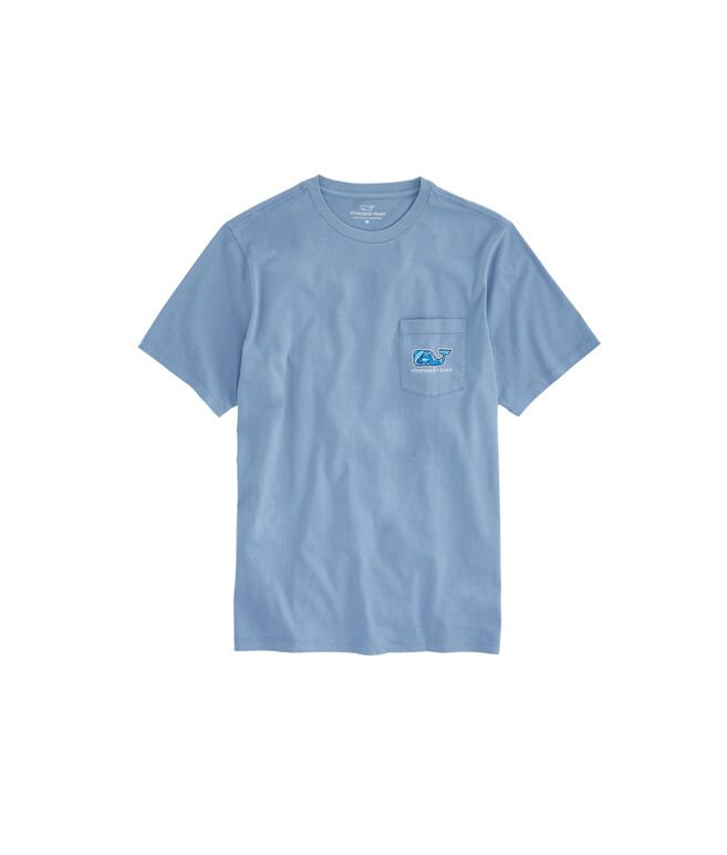 Under the Water Whale Fill Pocket T-Shirt