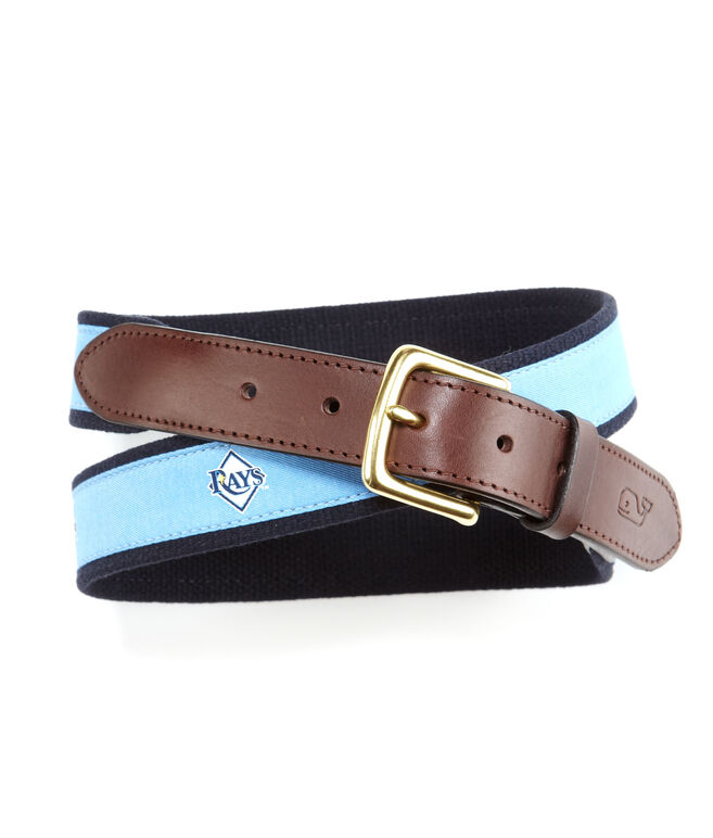 Tampa Bay Rays Canvas Club Belt