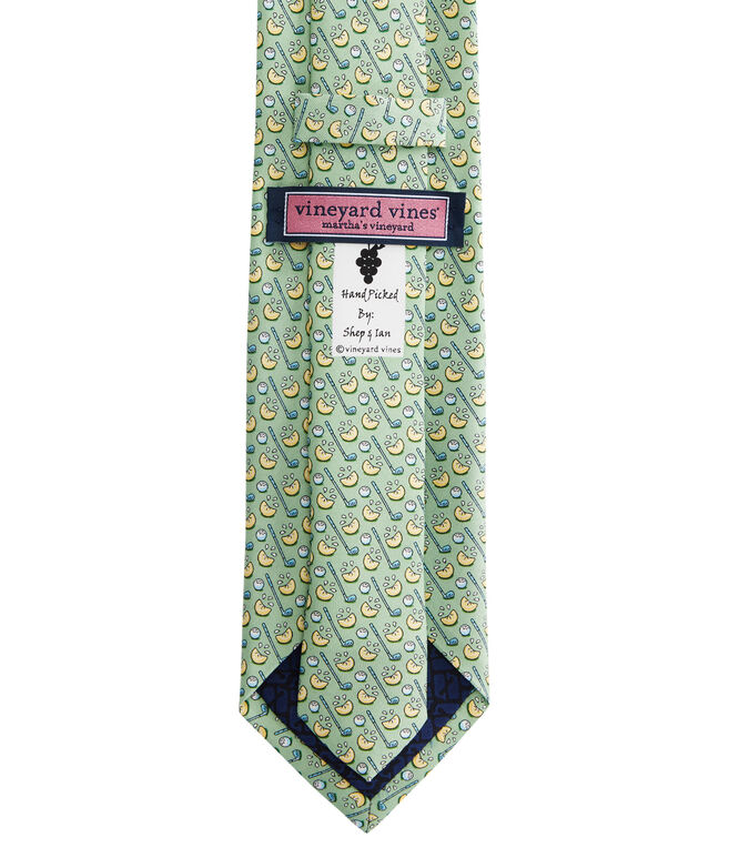 Lemon Wedge Printed Tie