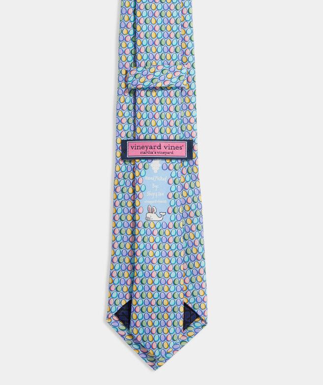 Boys' Easter Eggs Printed Tie