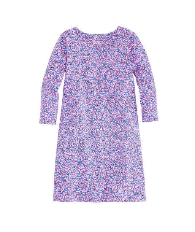 Girls Painted Shell Tisbury Knit Dress