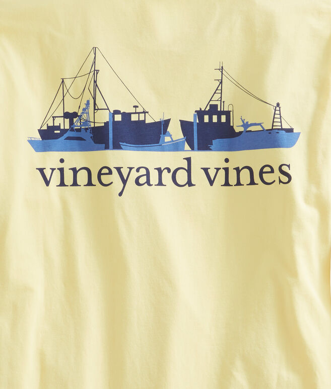 Long-Sleeve Fishermans Fleet Pocket T-Shirt
