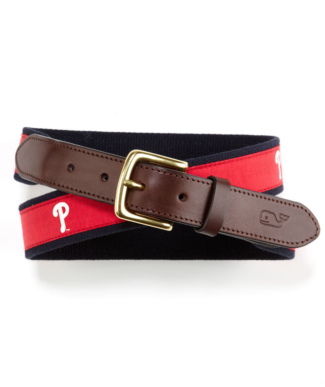 Philadelphia Phillies Canvas Club Belt
