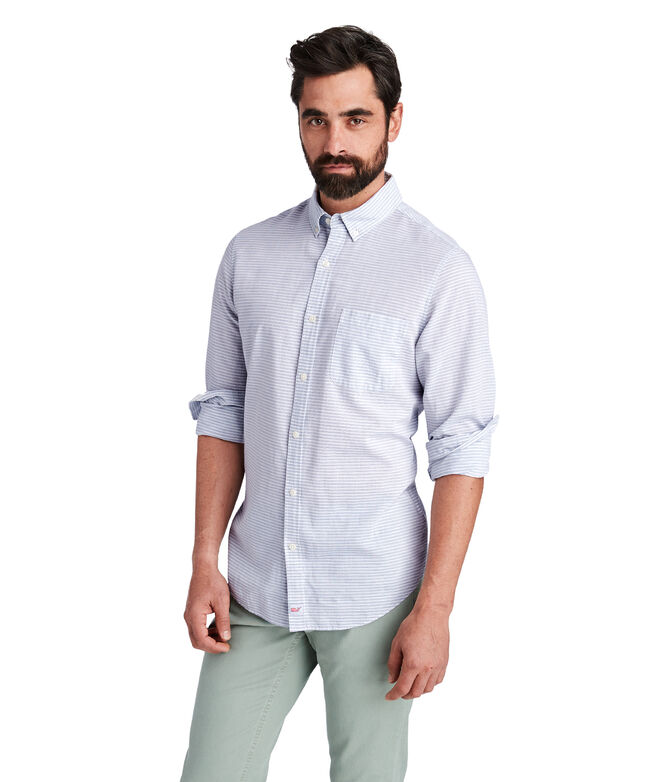 Slim Fit Kenepa Stripe Murray Shirt
