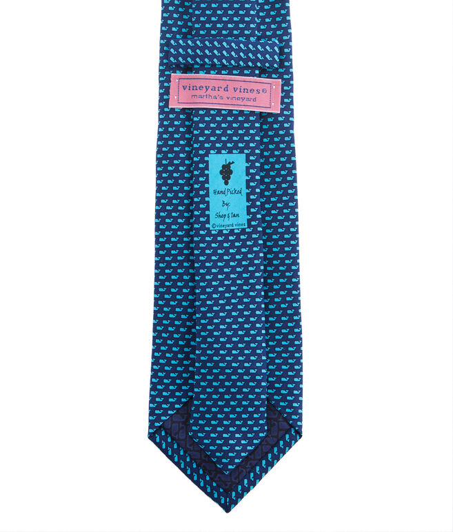 Extra Long Neon Whale Tie