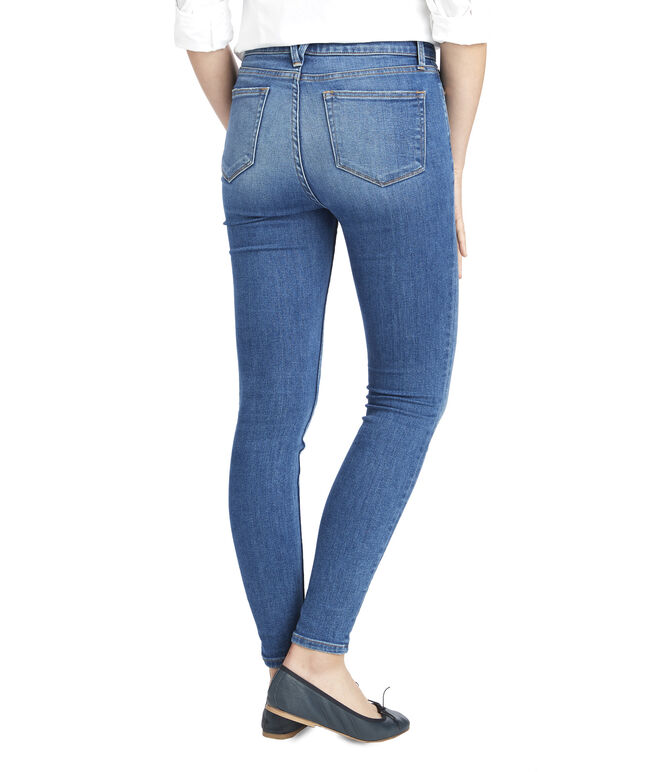 Made in the USA Jamie High Rise Medium Wash Denim
