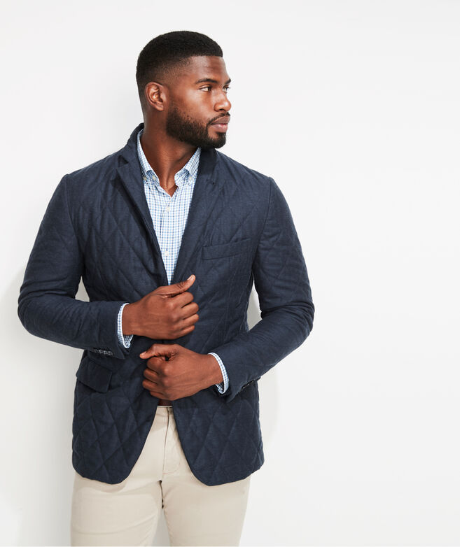 Greenwich Quilted Blazer