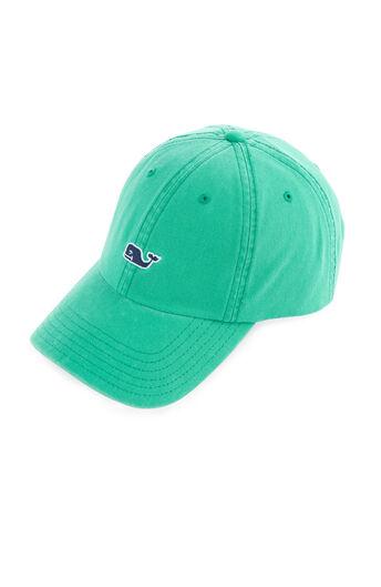 997c9ccdcb0 Whale Logo Leather Strap Baseball Hat