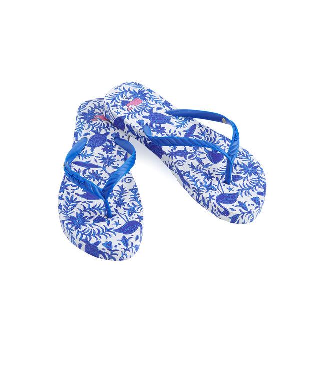 Otomi Printed Flip Flops