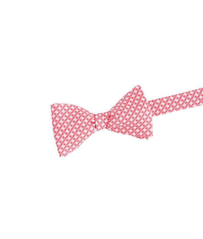 XOXO Printed Bow Tie
