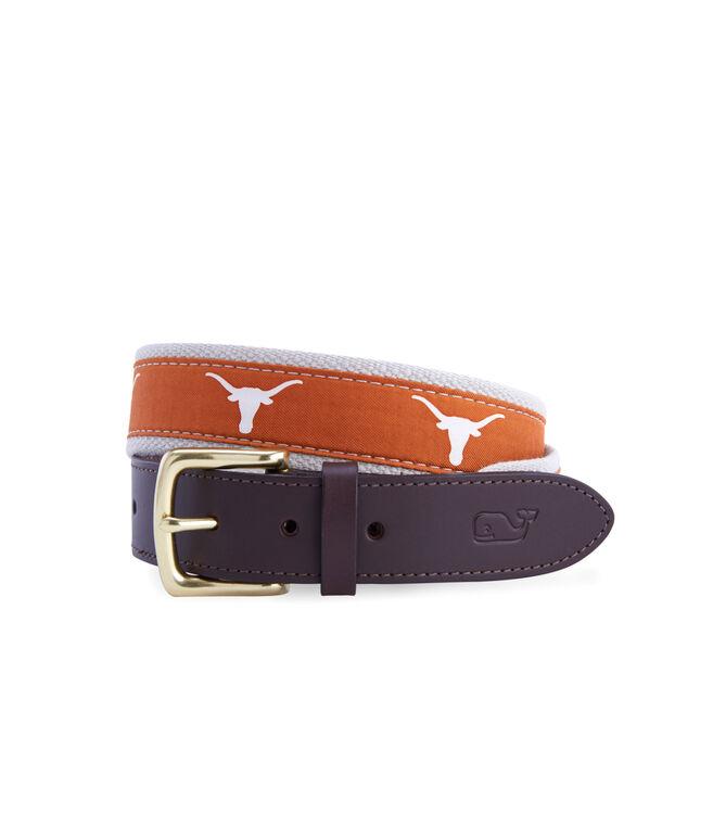 University of Texas Canvas Club Belt
