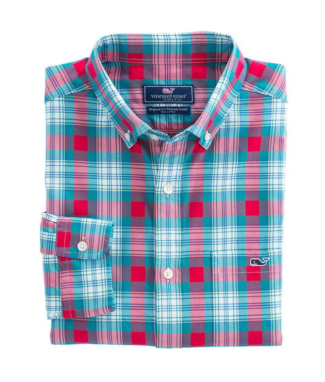 Elmwood Plaid Classic Tucker Shirt