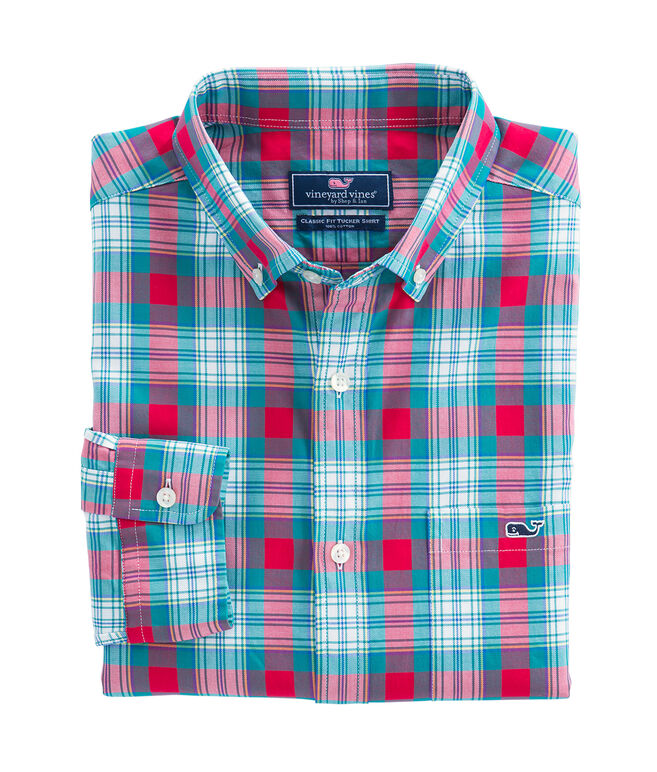 Elmwood Plaid Classic Tucker Shirt