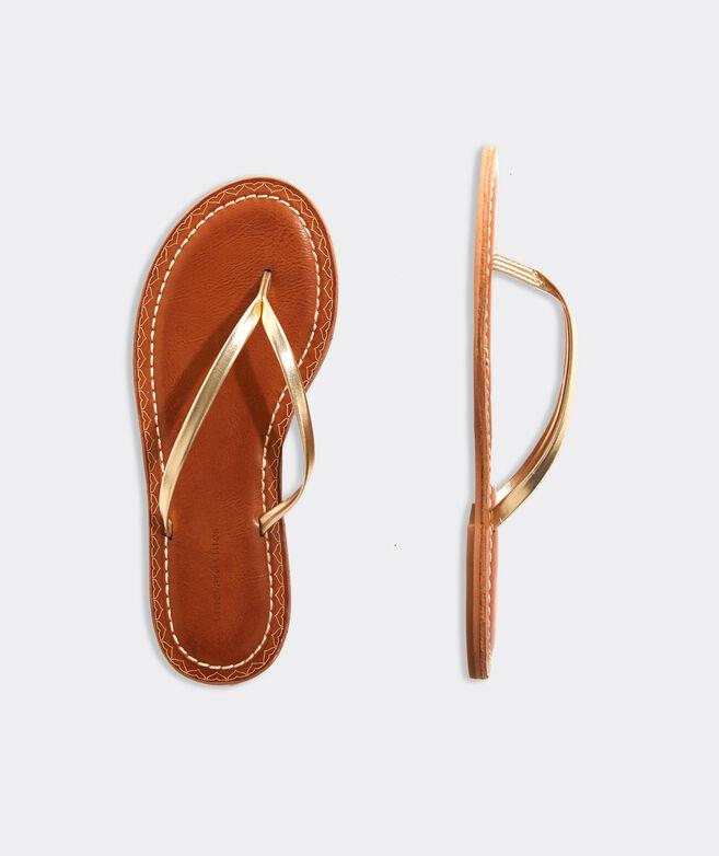 Skinny Strap Flip Flops