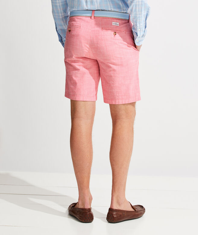 9 Inch Chambray Breaker Shorts