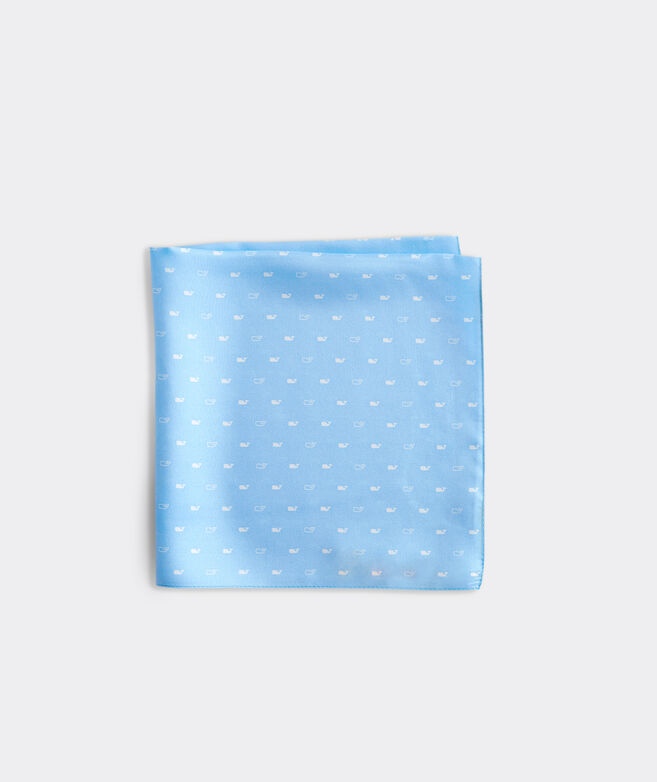 Spread Out Whale Printed Pocket Square