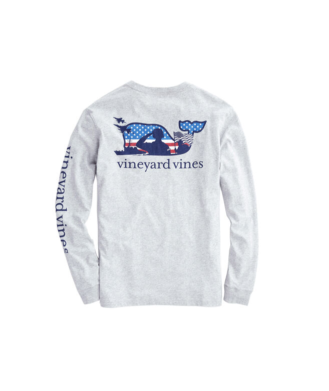 designer fashion 8b8ba cfd71 Adult Long-Sleeve Veterans Pocket T-Shirt