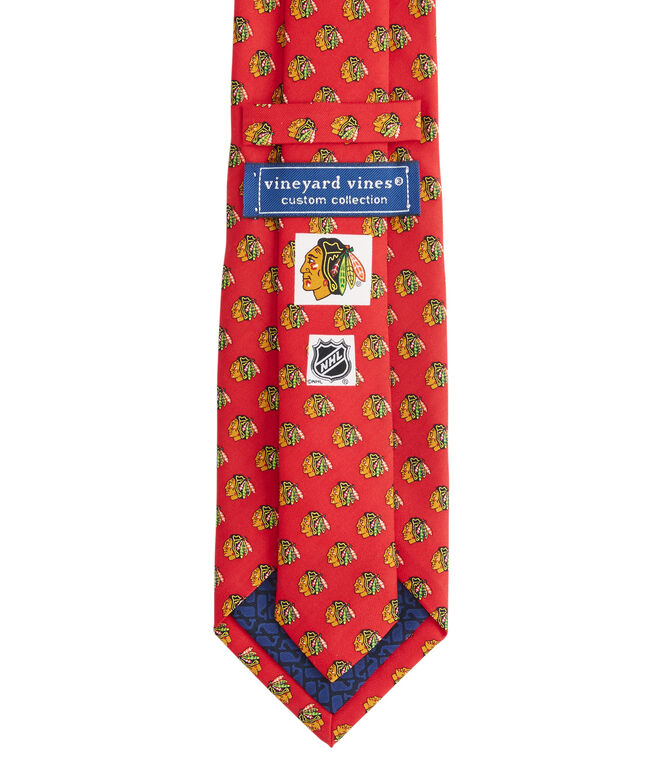 Chicago Blackhawks Logo Tie