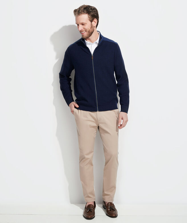 Grant Full-Zip Sweater