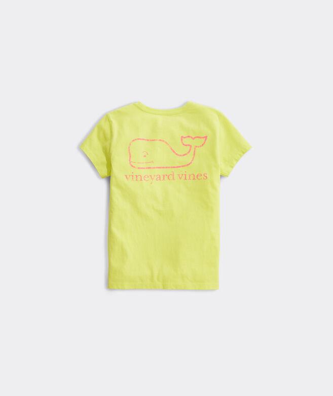 Girls' Vintage Whale Pocket Tee