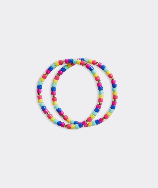 Multi Colored Pop Bracelet Set