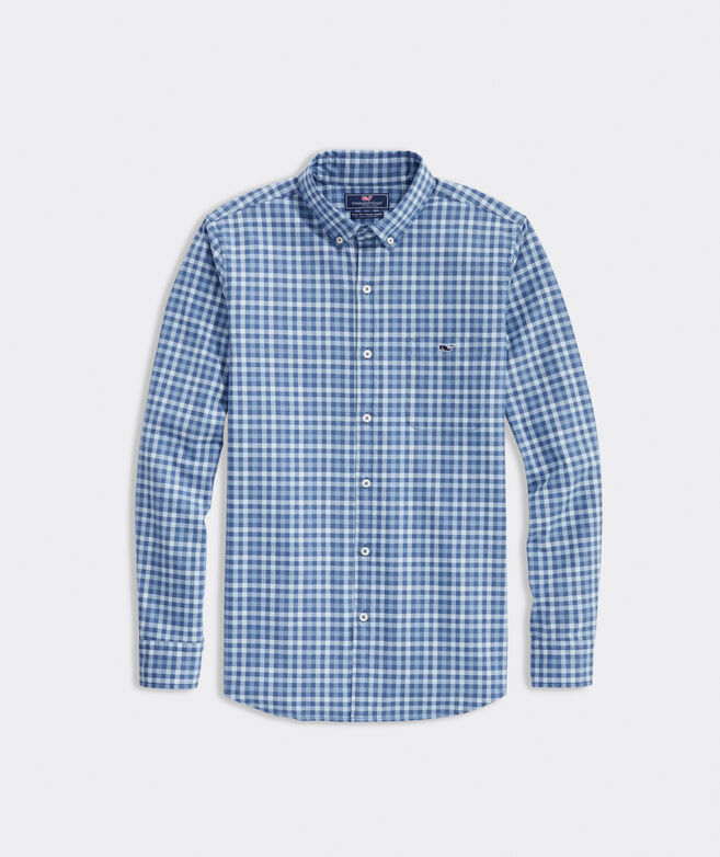 Slim Fit Robbins Tucker Button-Down Shirt