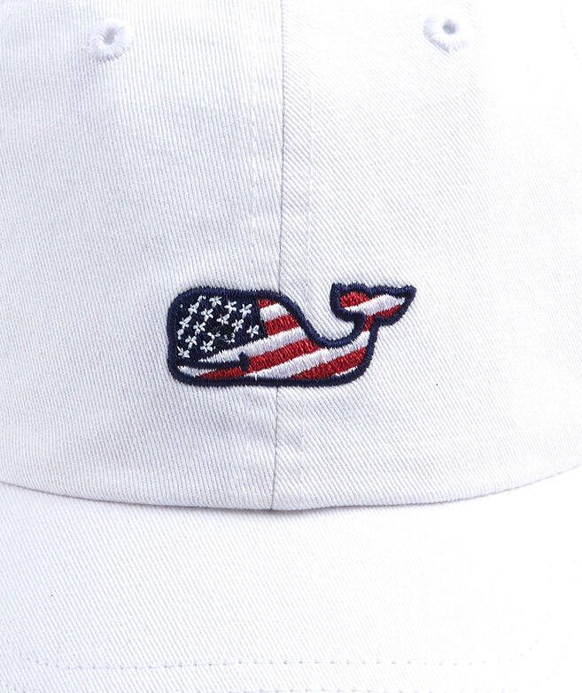 girls flag whale baseball hat killer cap