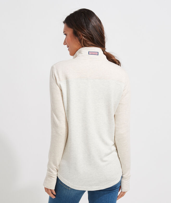 Color-Blocked Dreamcloth Relaxed Shep Shirt