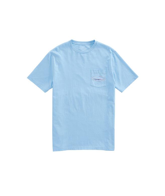 Tropical Fans Surf Logo Pocket T-Shirt