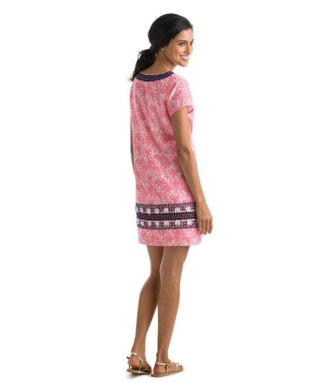 Starfish & Coral Print Dress