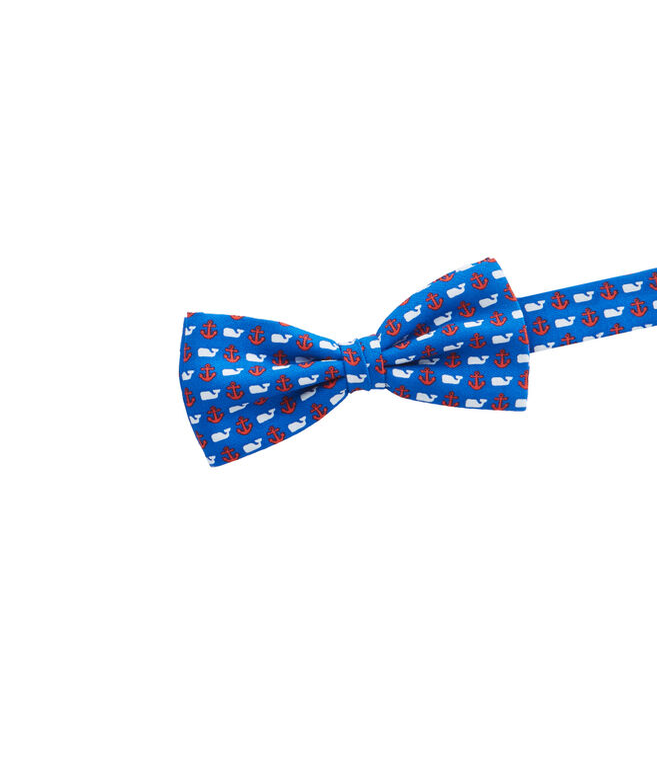 Boys Anchor & Whale Bow Tie