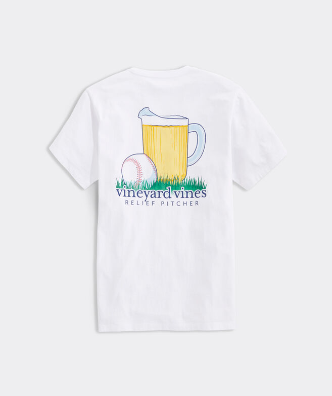 Relief Pitcher Short-Sleeve Pocket Tee