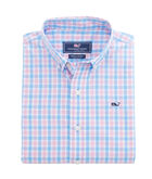 Boys Saddle Bay Check Whale Shirt