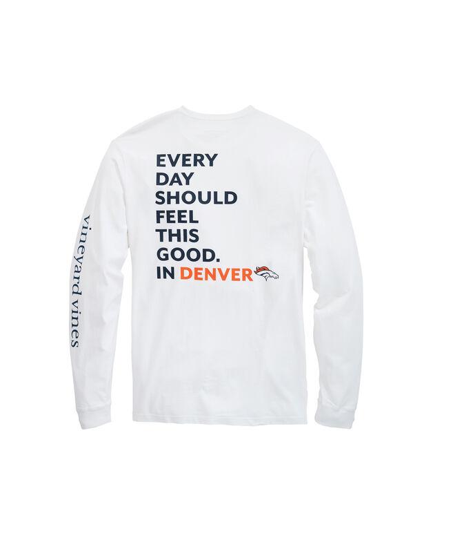 Denver Broncos Long-Sleeve EDSFTG T-Shirt