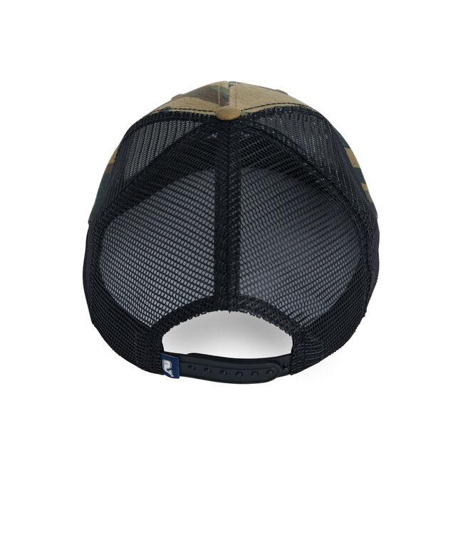 Trout Patch Camo Trucker Hat