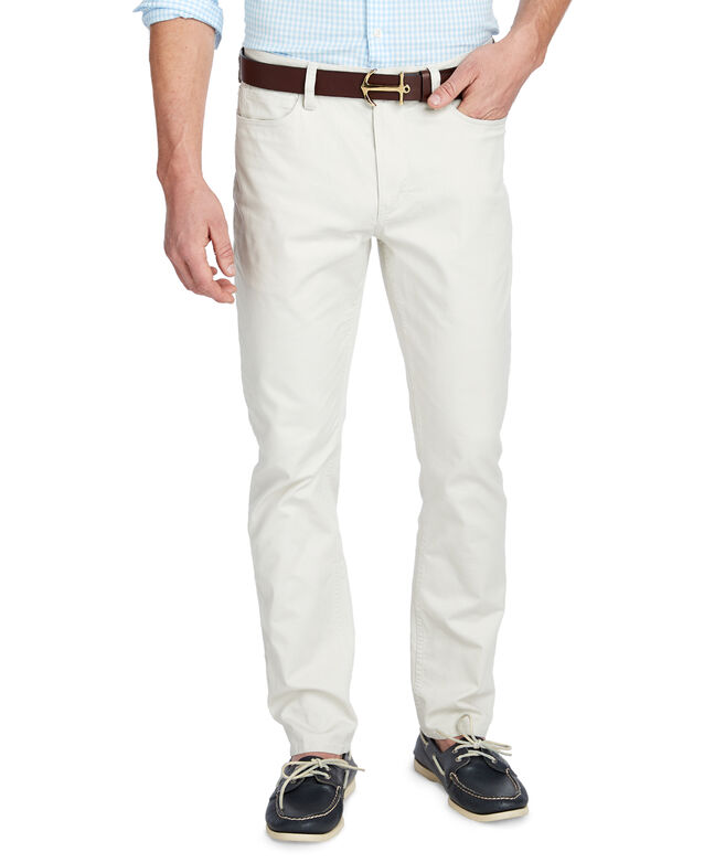 Canvas 5 Pocket Slim Pants