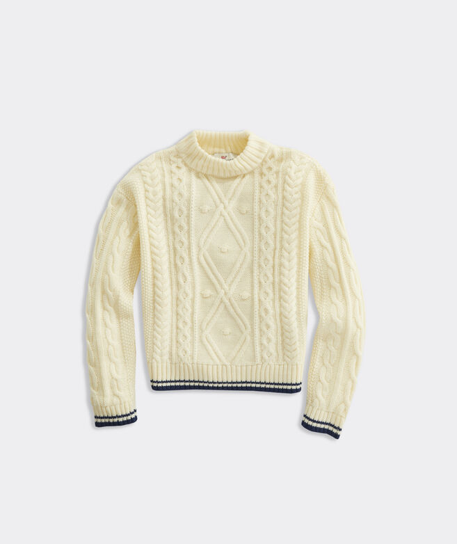 Girls' Fisherman Sweater