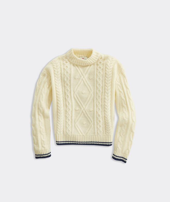 Girls' Fisherman Sweater