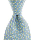 Honeycomb Whale Tie