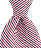 Americana Seersucker Stripe Tie