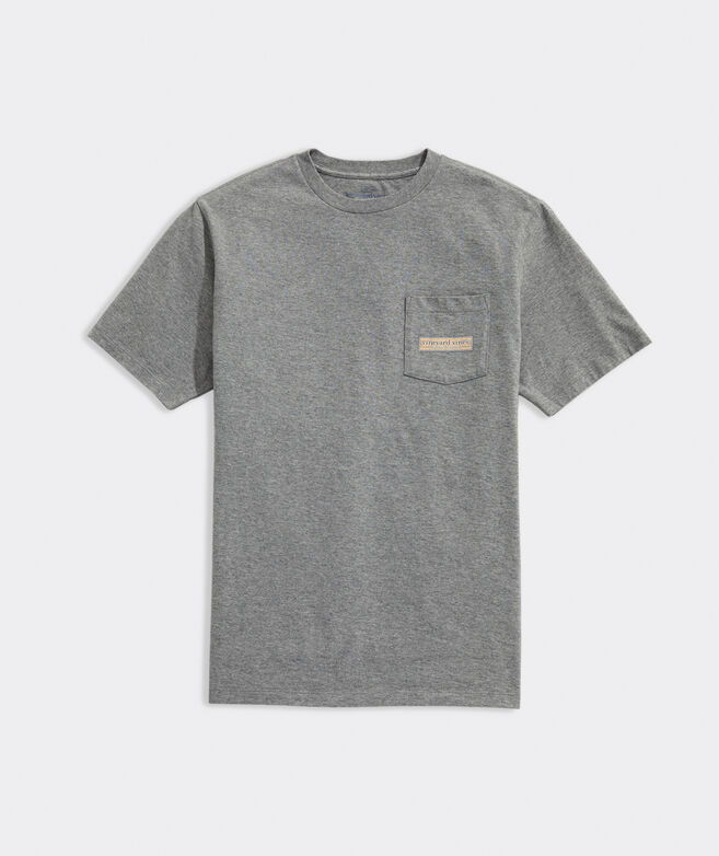 Basketball Court Short-Sleeve Pocket Tee