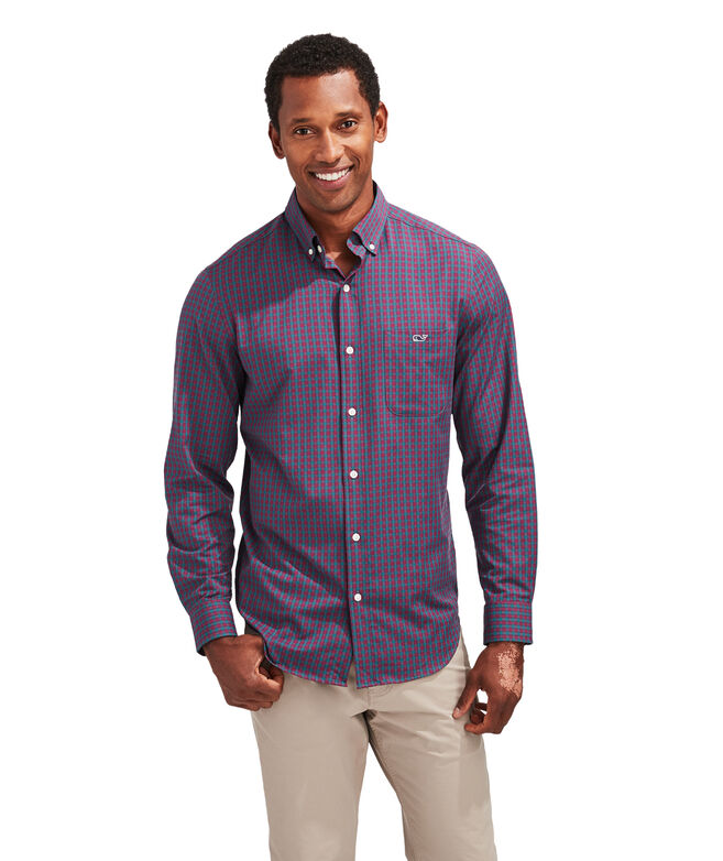 Classic Fit Dorade Cotton Performance Tucker Button-Down Shirt