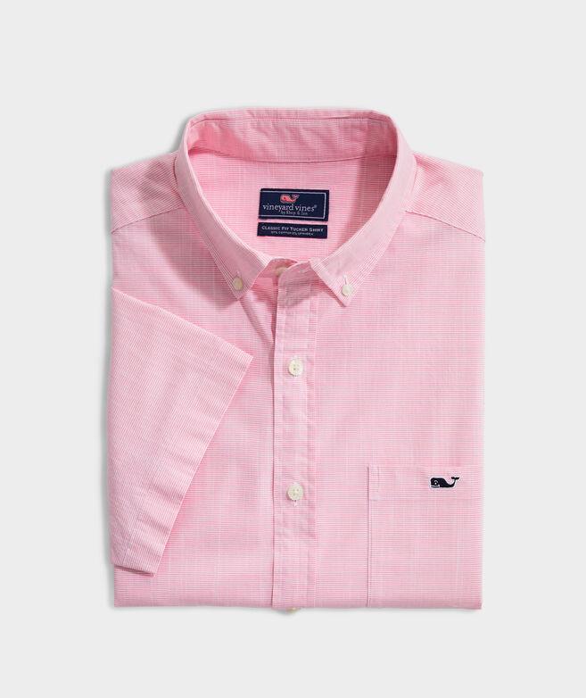 Big & Tall Classic Fit Bougainvillea Tucker Short-Sleeve Button-Down Shirt