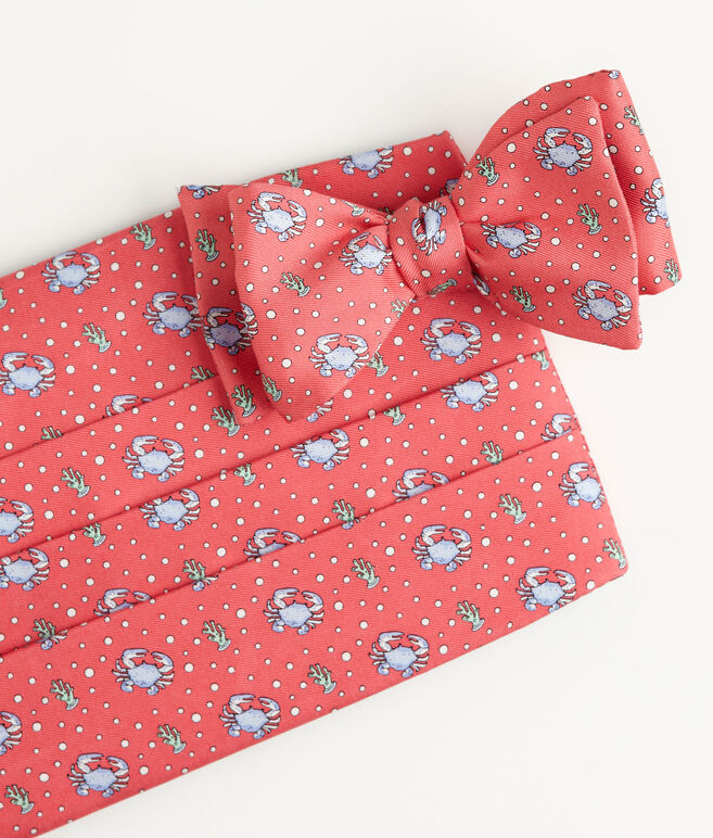 Crab Cummerbund Set