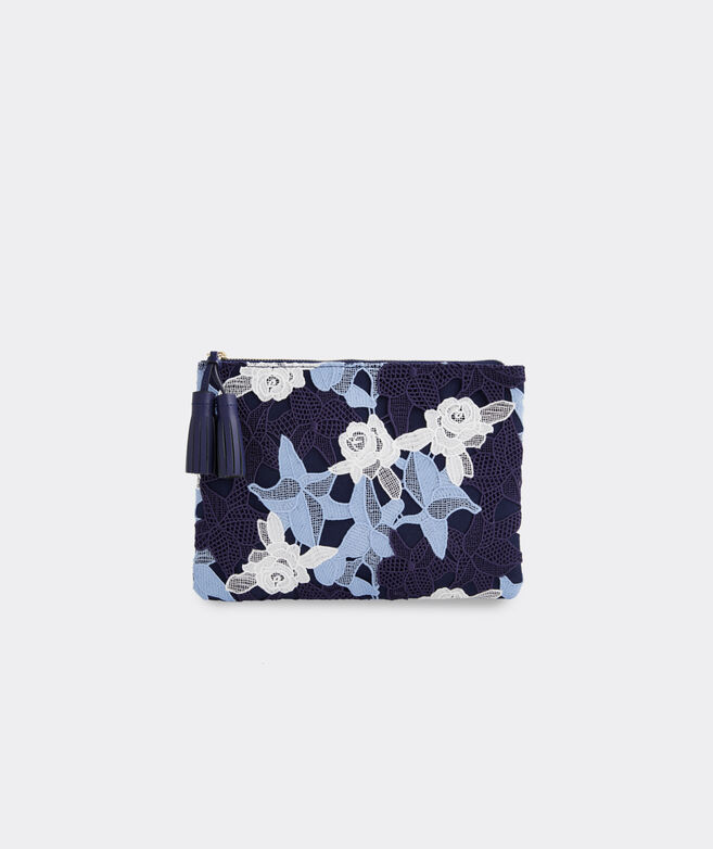 Rose Lace Fashion Clutch